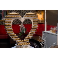 Ferrero Rocher Heart Display Stand rental Deposit