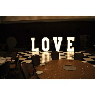 Love Letter Light Hire - Deposit