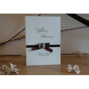 Cameo Collection Order of Service/Wedding Ceremony Booklet