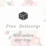 Free Shipping when you spend £50 or more.
