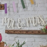 Mr and Mrs Wooden Bunting - Boho