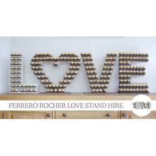 Ferrero Rocher Love Display Stand rental Deposit