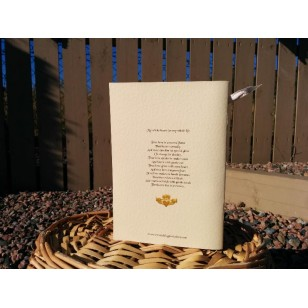 Bespoke Order of Service Booklet. Classic Style 24 page booklet