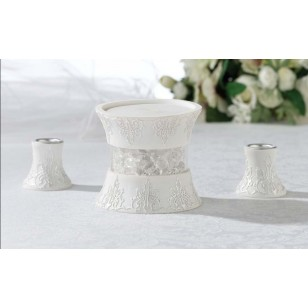 3 Pc Candle Holder Set - Free Delivery