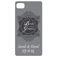 Bride and Groom Personalised Iphone 4/4s Mobile Phone Case
