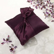 Plum Ring Pillow