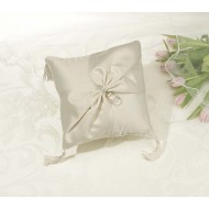 Rhinestone Pillow - Ivory