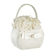 Scattered Pearl Basket - Ivory