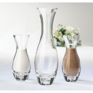 Set of 3 Unity Vases with Tag and Sand