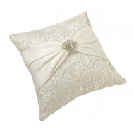 Vintage Lace Pillow-Cream
