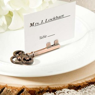 Vintage inspired place card - photo holders