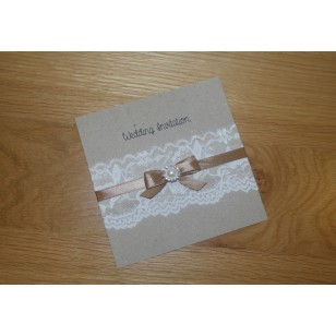 DB Diamante Cluster with Vintage Lace - Flat