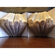 `Photo Booth` Folded Book Art - Prop