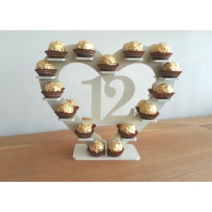 Ferrero Table Number Stand Rental - Excellent Wedding Reception Centrepiece