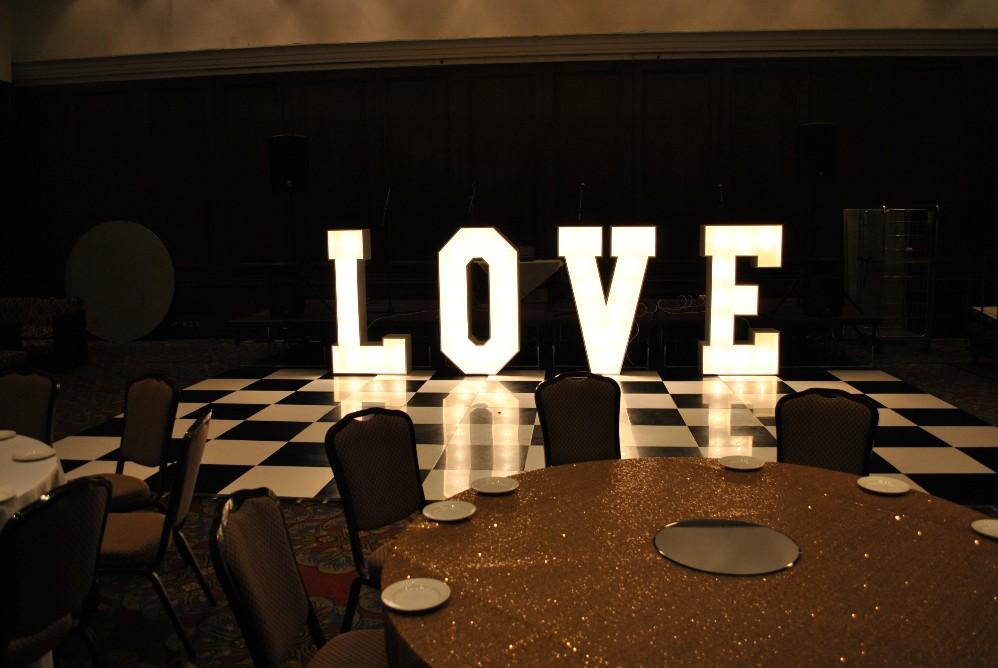 Love Letter Light Hire Deposit