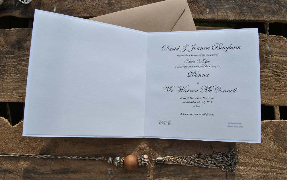 Wedding invitation wording an easy how to guide stopboris Gallery